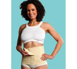 CARRIWELL Belly Binder organic - BÍLÝ