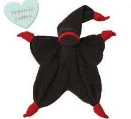 PEPPA SISCO mazlíček ORGANIC Anthracite/Red