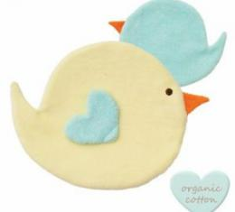 PEPPA Sleeping Budies bird yellow/baby blue