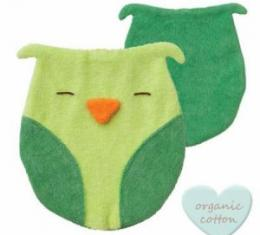 PEPPA Sleeping Budies owl lime/dark green