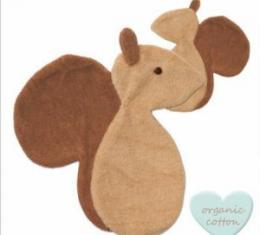PEPPA Sleeping Budies squirrel stone/brown